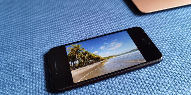 iPhone SE 2020: экран