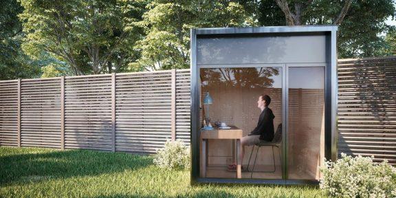 Штука дня: модульный офис от Dwellito, который можно поставить в саду