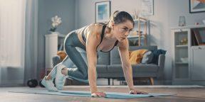 Как делать упражнение «скалолаз», чтобы качать пресс и худеть