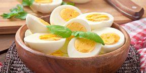 Как и сколько варить яйца вкрутую