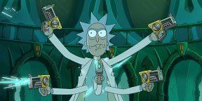 Вышел трейлер пяти новых серий «Рика и Морти»