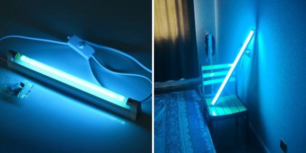Лампа для кварцевания