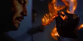 Видео дня: Киану Ривз в роли Призрачного гонщика киновселенной Marvel