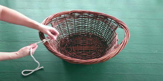 Как сделать лежанку для кота своими руками: привяжите одну верёвку