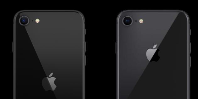 4 внешних отличия iPhone SE 2020 от iPhone 8