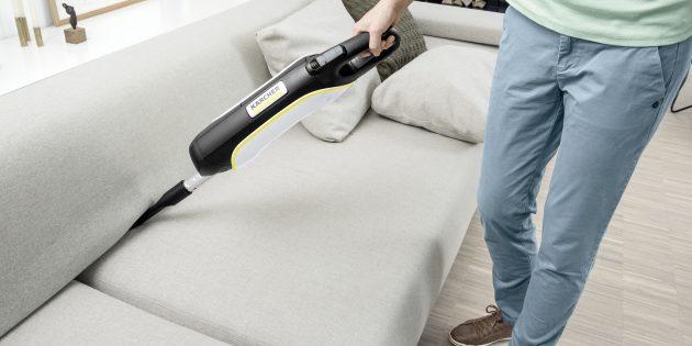 Уборка дома: аккумуляторный пылесос Karcher