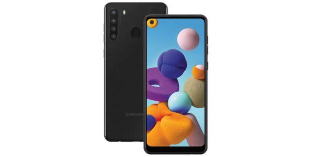 Samsung показала бюджетные смартфоны Galaxy A21 и A41: современный дизайн и быстрая зарядка