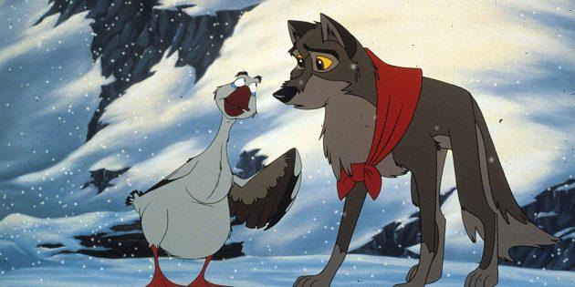 Мультфильмы про собак: «Балто»