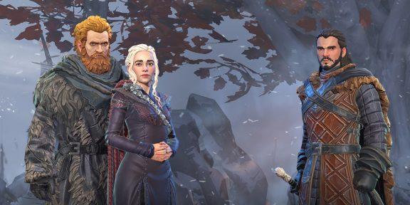 По «Игре престолов» вышла полноценная сюжетная RPG для Android и iOS