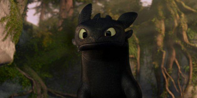 Мультики про драконов: «Как приручить дракона»