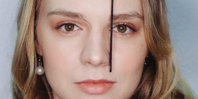 Как подобрать форму бровей: определите начало брови