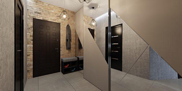 Интерьер маленькой квартиры: зеркала как продолжение комнаты