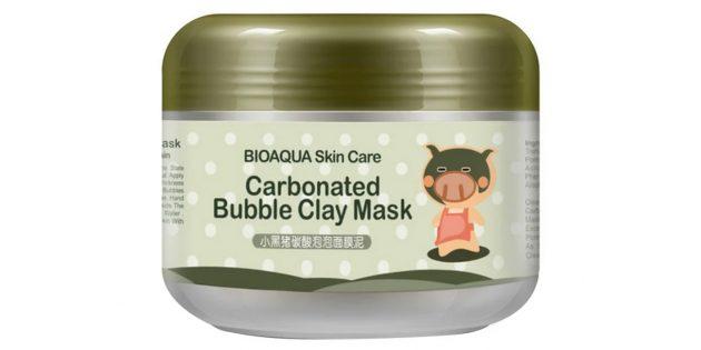 Лучшие маски для лица: экспресс-маска Dolce Milk: очищающая маска Bioaqua