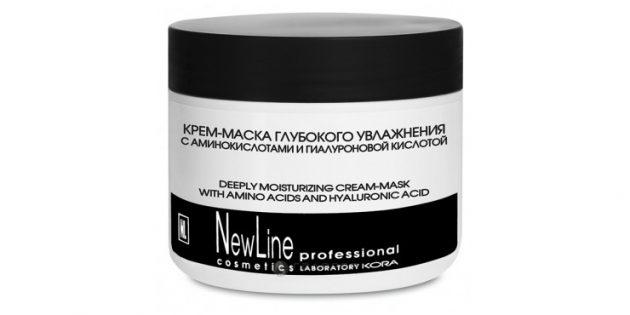Лучшие маски для лица: экспресс-маска Dolce Milk увлажняющая маска New Line Professional