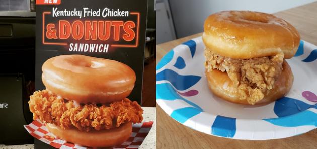 Ожидания против реальности: 20 фото еды в меню и в жизни