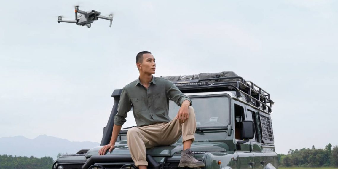 DJI представила топовый складной дрон Mavic Air 2
