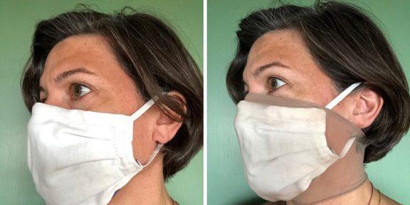 Простой чулок может значительно повысить эффективность защитной маски