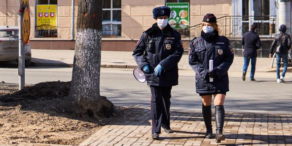 Как общаться с полицией во время пандемии