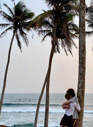 Коронавирус на Шри-Ланке: пустынный пляж