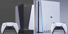 Какой будет PlayStation 5: в Сети показали варианты дизайна консоли
