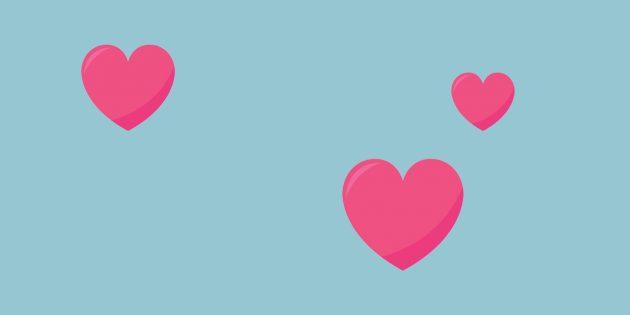 Три сердечка