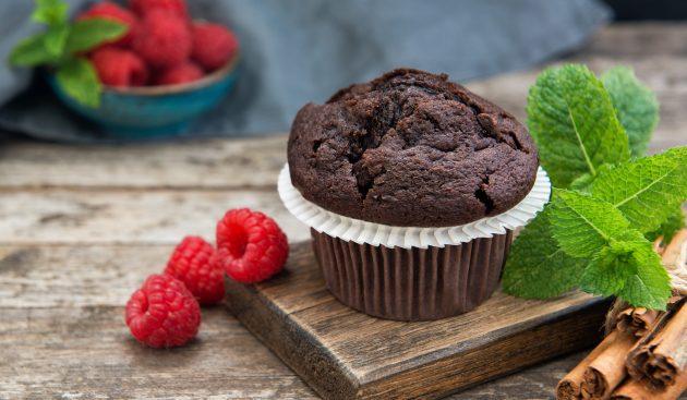 Влажные шоколадные кексы