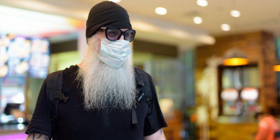 Брить или не брить: увеличивает ли борода риск заражения коронавирусом