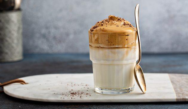 Дальгона-кофе с какао