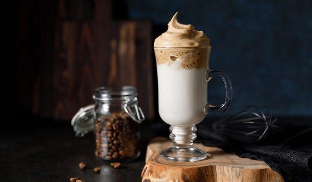 Классический дальгона-кофе
