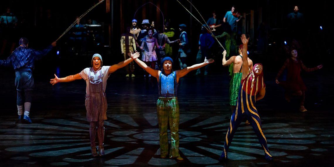Пятое шоу «Цирка дю Солей» онлайн уже сегодня