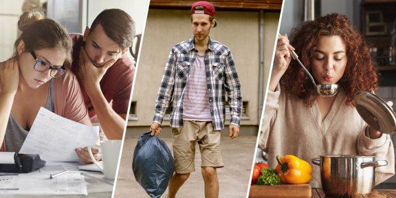 10 домашних дел, которым должен научиться каждый взрослый человек
