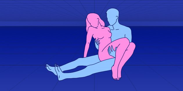 Секс сидя: «афродита»