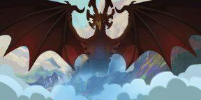 11 красочных мультфильмов про драконов для любителей фэнтези