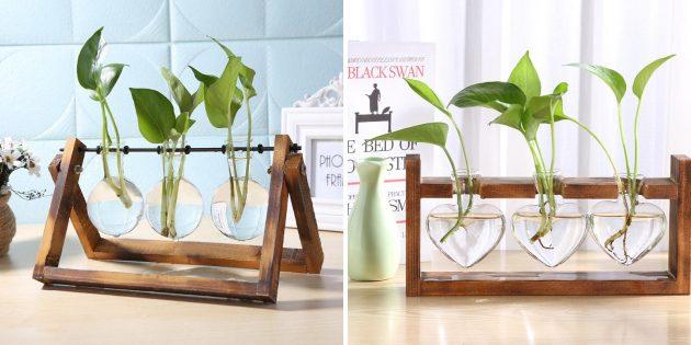 Миниатюрные вазы для растений