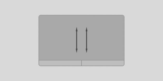 Жесты тачпада Windows 10: прокручивайте содержимое окна вверх или вниз