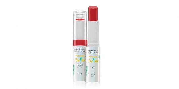 Макияж для лета: помада для губ Physicians Formula с SPF 15