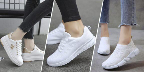20 крутых белых кроссовок с AliExpress и из других магазинов