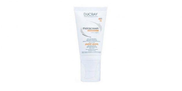 Лучшие солнцезащитные средства: Солнцезащитный крем для лица Ducray Melascreen