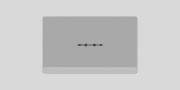 Жесты тачпада Windows 10: прокручивайте содержимое окна вправо или влево