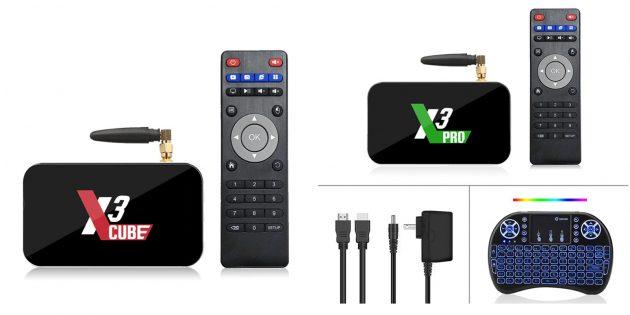 ТВ-приставка Ugoos X3