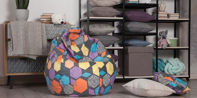 Кресло-мешок Delicatex