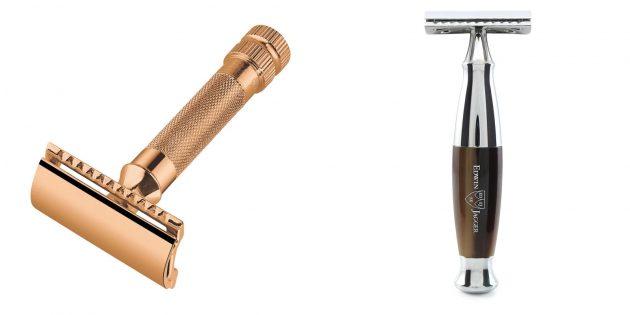 Подарок мужу на день рождения: классический станок для бритья