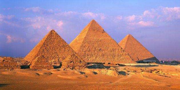 Мифы про Древний мир: пирамиды всегда были песочного цвета