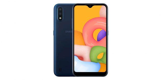 Скидки дня: Samsung Galaxy A01
