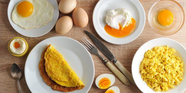 Статьи о здоровье: 6 причин есть яйца на завтрак
