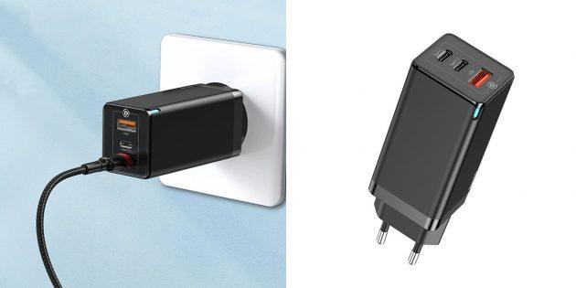 Сетевое зарядное устройство Baseus