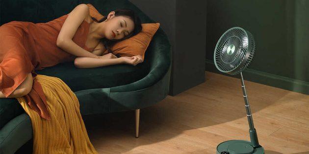 Xiaomi представила вентилятор-трансформер с функцией увлажнения воздуха