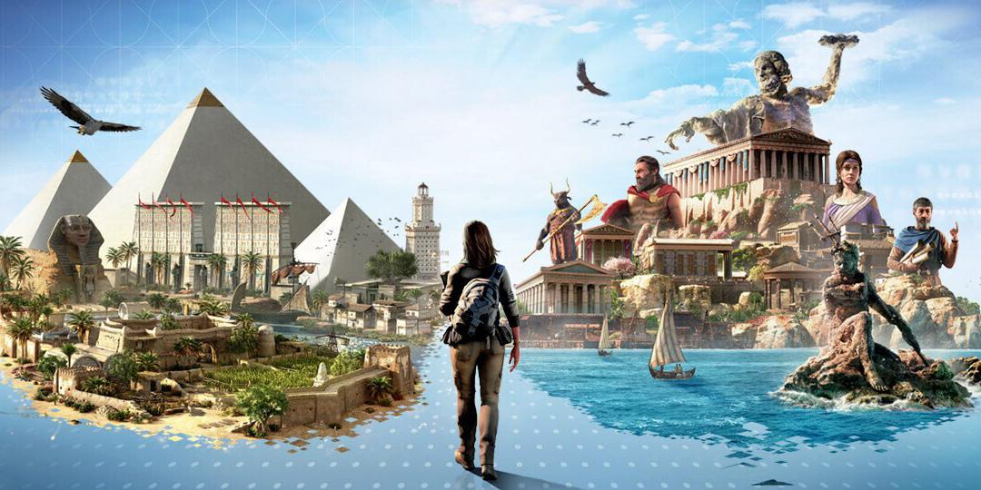 Ubisoft раздает интерактивные туры по Египту и Греции