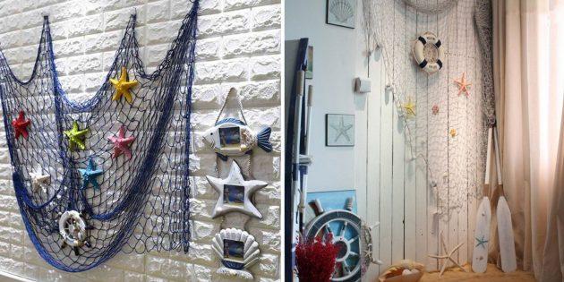 Товары для дома: декоративная сетка