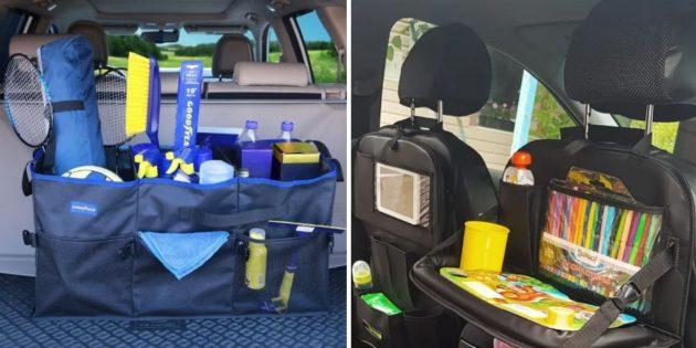 Что подарить мужу на день рождения: органайзер для автомобиля